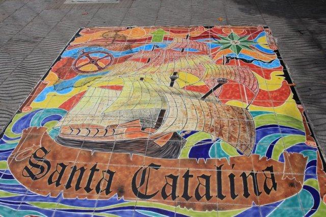 m_Santa Catalina paved artwork