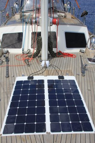 m_Solar on fore deck