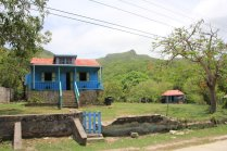 m_Pretty House infront of hills