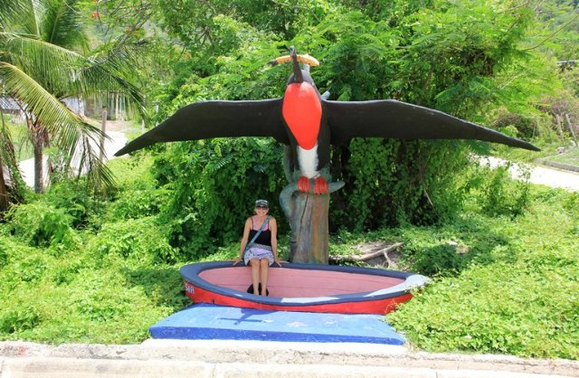 m_Susie in Frigate Bird Bus Stop