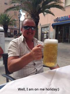 Grande Beer at La Maddalena copy