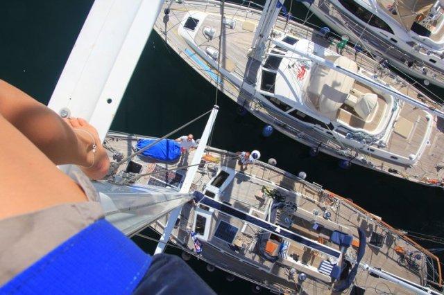 m_Up the Mast