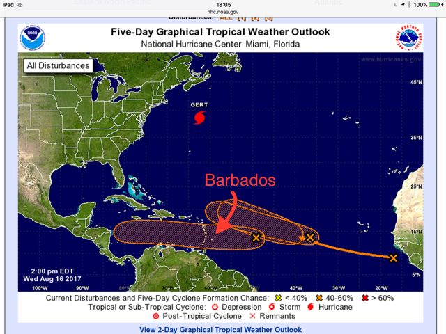Storm Warnings NOAA