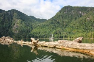 Lowe Inlet, British Columbia