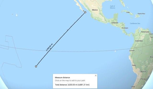 Baja Mexico to Hva Oa-squashed