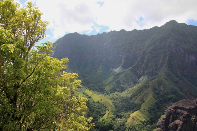 Fatu Hiva views down Hanavave valley-squashed