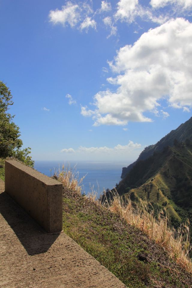 Fatu Hiva views from hill-squashed