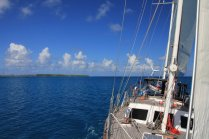 Sailing in the Tuamotus, French Polynesia